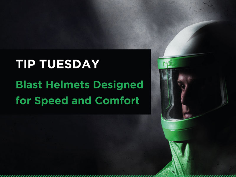 Tip #7 Blast Helmets Designed for Speed and Comfort