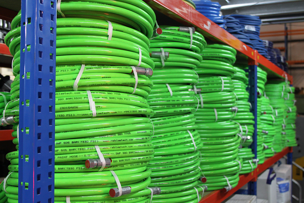 Reduce Workplace Accidents With RS Blastech's Viz-Alert Paint Hose