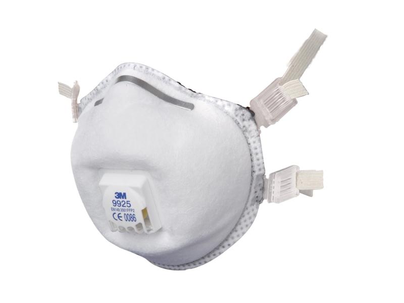 3M 9925 FFP2 Carbon Valved Face Mask