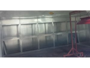Open Spray Booths