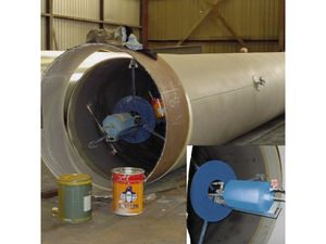 SpiralSpray Internal Pipe Coating Tool