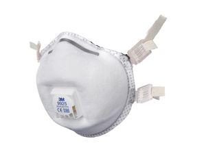 3M 9925 FFP2 Carbon Valved Face Mask