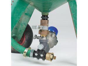 Pot Mounting Union End Ball Valve Connector