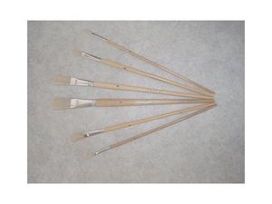 Industrial Flat Fitch Paint Brush