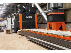 KUBE TF Series Thro-Feed Blast Systems