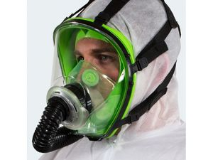 T150 battery powered ''PAPR'' painting respirator